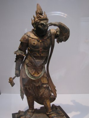 Statue of a Buddhist demon